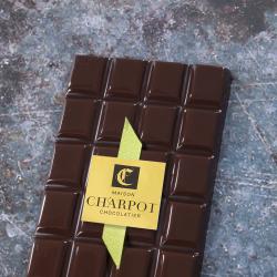 Tablette en chocolat noir pur Equateur 66 % de cacao (Alpaco)