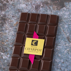 Tablette en chocolat noir pur Pérou 63 % de cacao (Illanka)