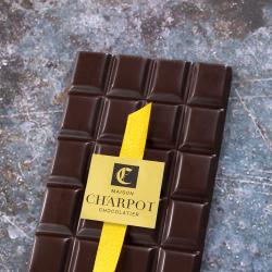 Tablette en chocolat noir pur Belize 75 % de cacao (Tulakalum)