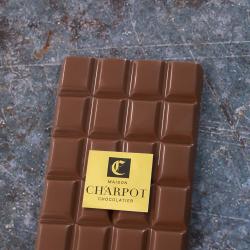 Tablette en chocolat au lait 34 % de cacao
