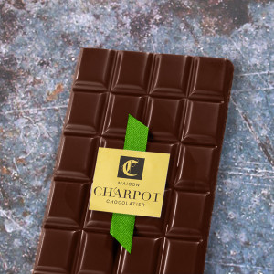 Tablette en chocolat au...